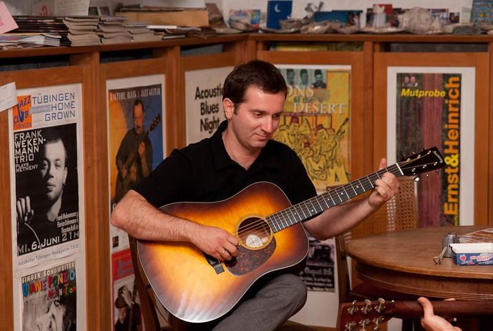My good friend and great guitarist Yiannis Gougourelas