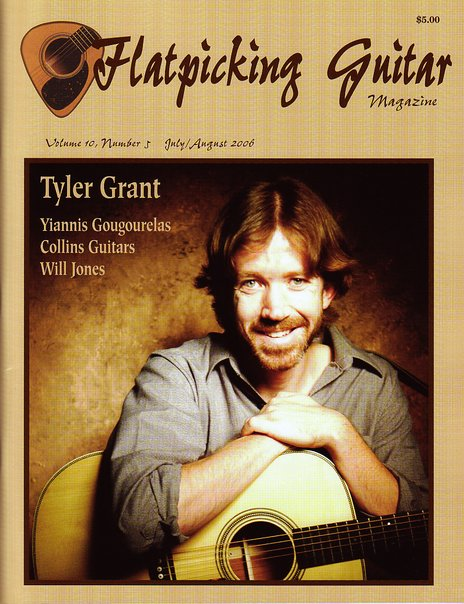 Flatpicking Guitar Magazine featuring Yiannis