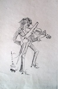 Untitled, 1990, pencil on paper, 30x20cm