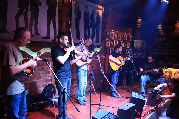 The Bluegrass scene in Greece